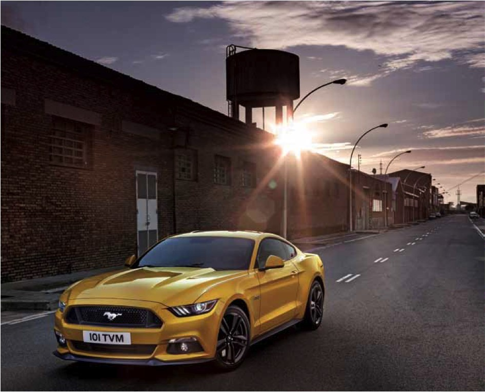 Ford Mustang 2015: Pony Express!