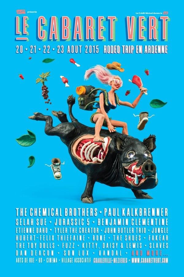 Au-delà de l'estival festival: Le Cabaret Vert