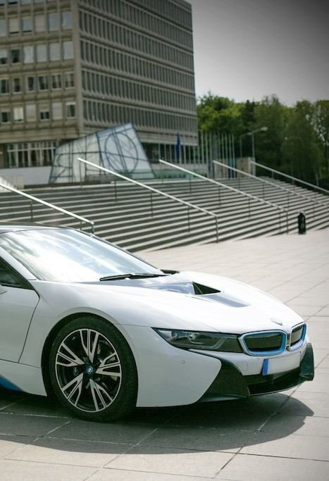 BMW i8, Back to the future