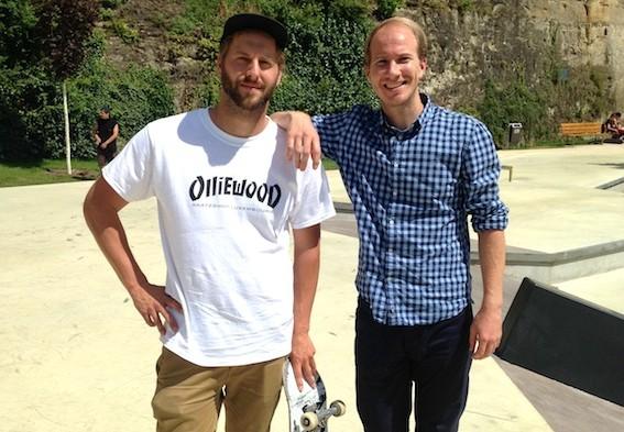 «On voulait un skatepark joli et skatable»