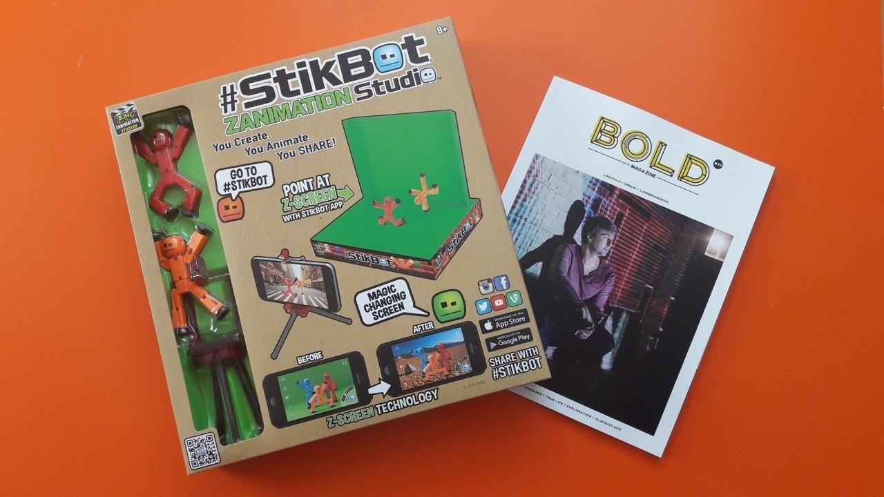 Crée ton film avec Stikbot!