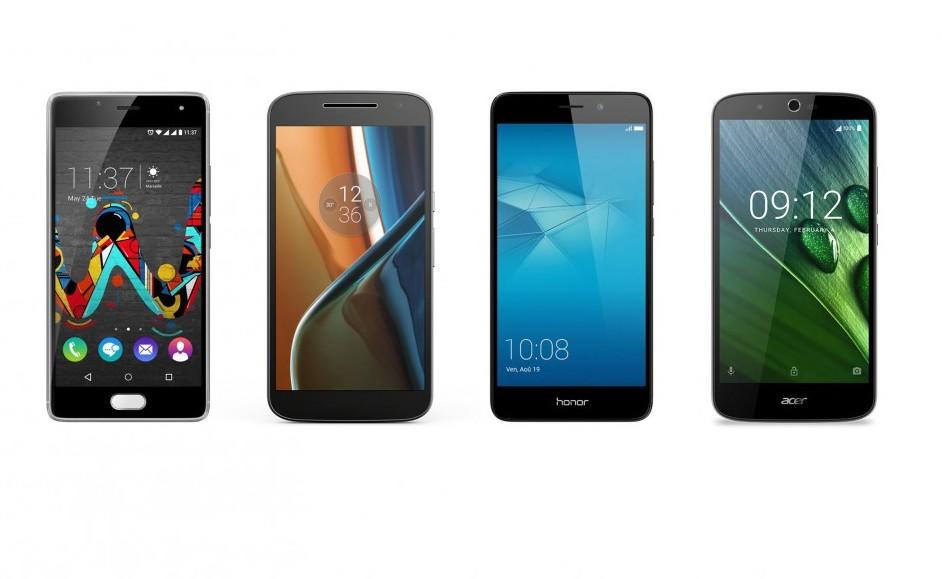 Voici quatre smartphones pour petits budgets