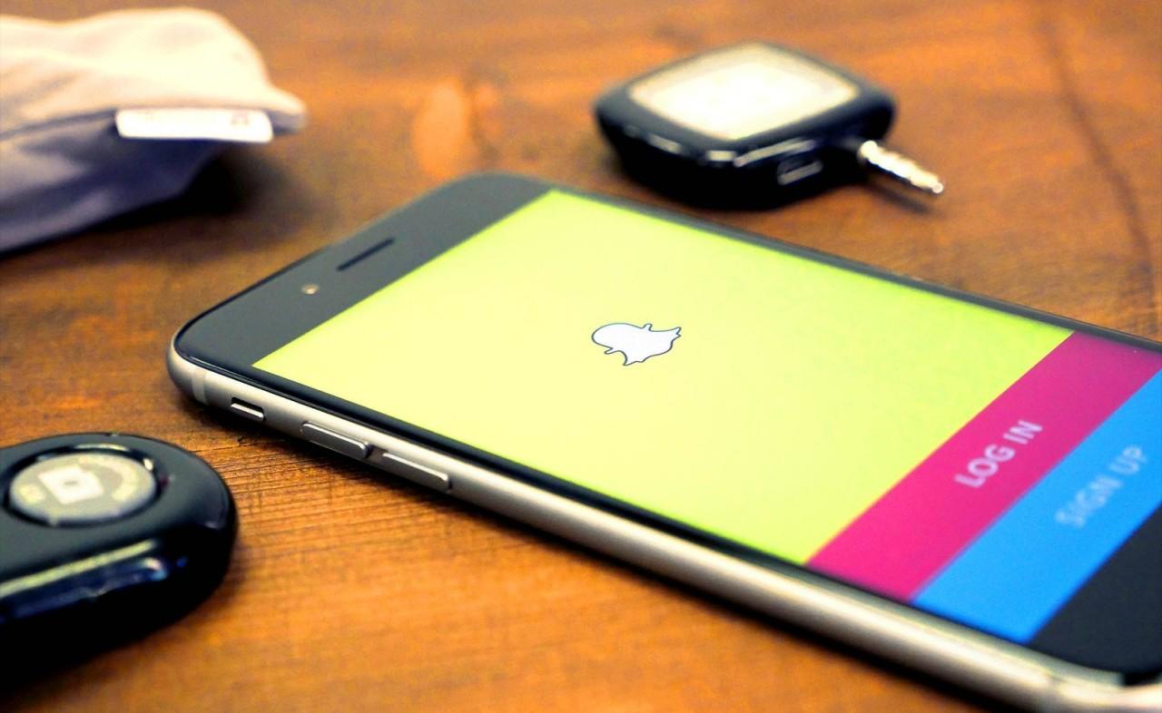 Snapchat a cartonné cette année