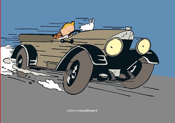 Scandale ou progrès? Tintin prend des couleurs!