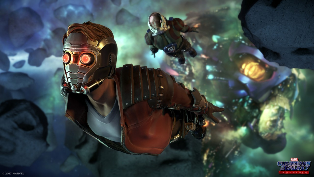 Guardians of the Galaxy, le jeu à une semaine du film