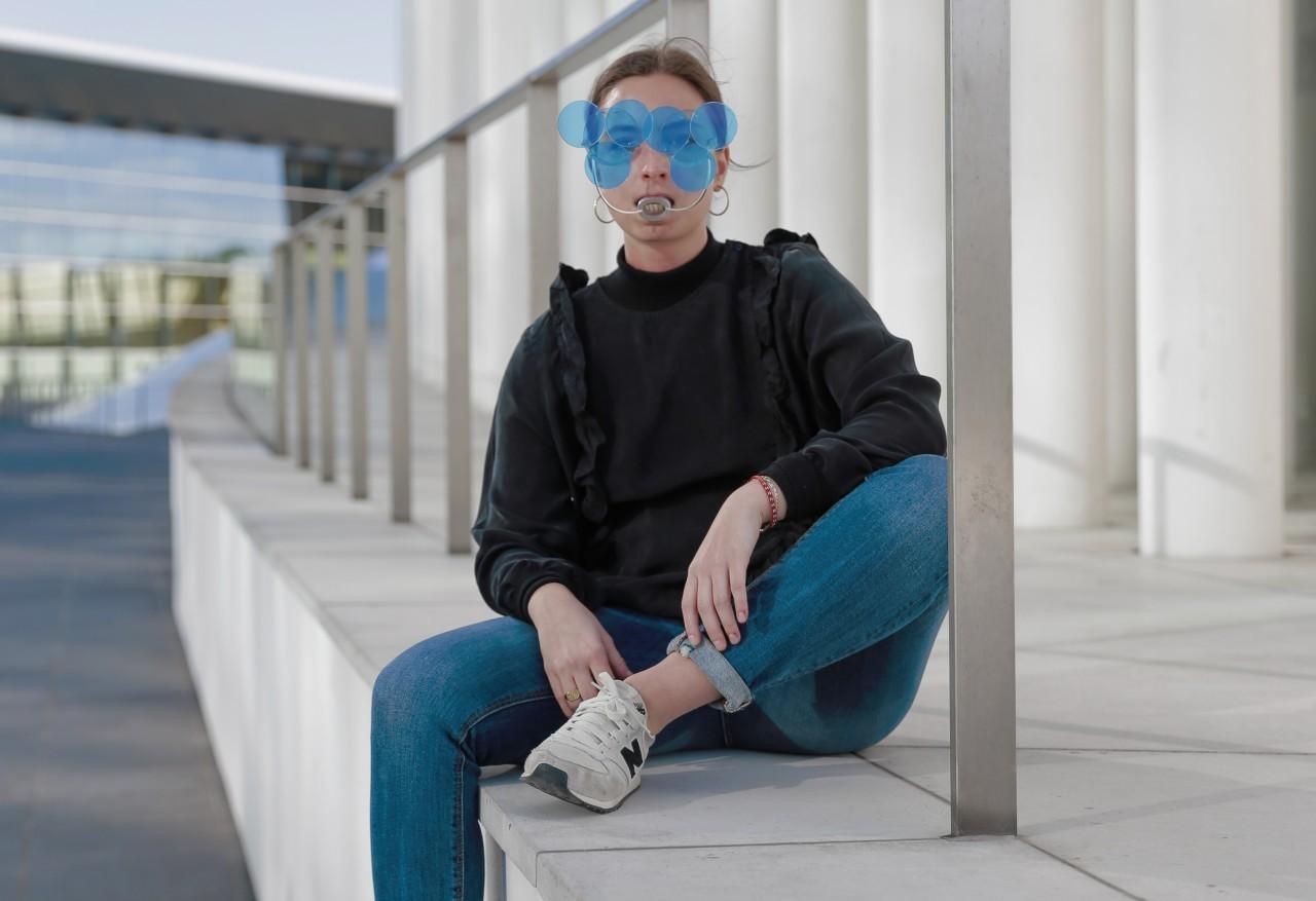 Les étonnantes lunettes de plongée de Jil Jander