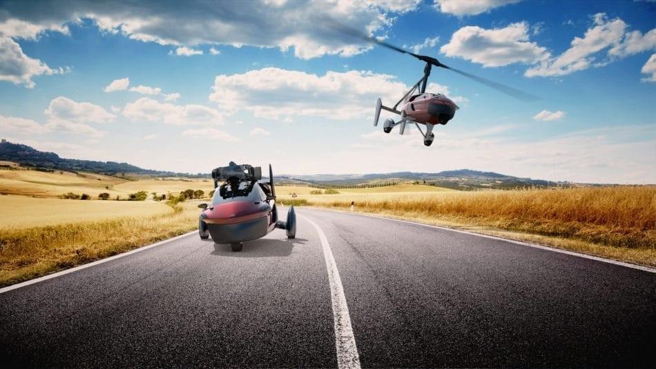 La voiture volante dispo en 2018 ?