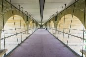 La passerelle flottante sous le Pont Adolphe bientôt accessible