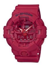 La G-Shock s'habille de rouge pour célébrer son 35e anniversaire