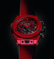 Hublot présente la première montre en céramique rouge