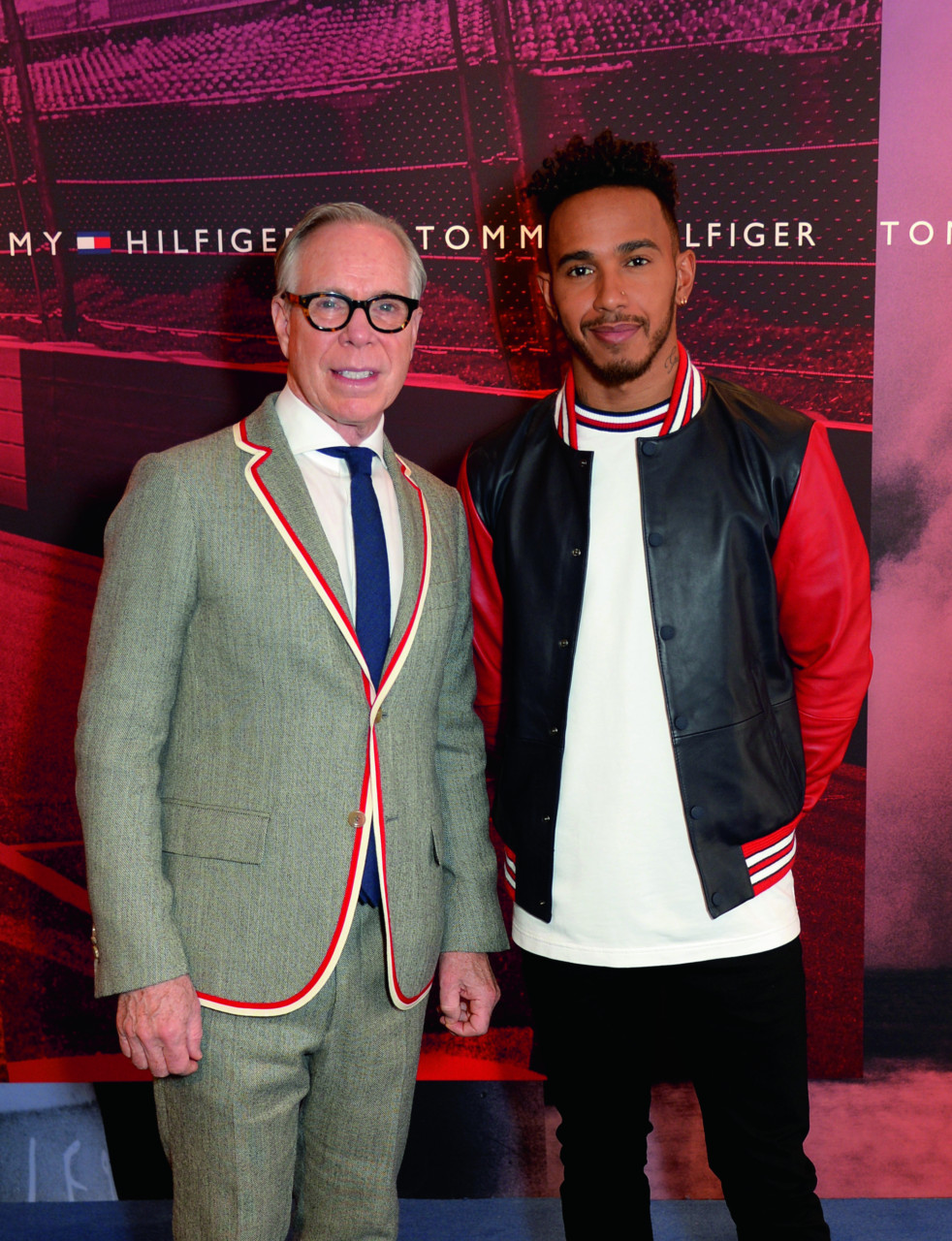 tommy hilfiger recrute lewis hamilton bold magazine. Black Bedroom Furniture Sets. Home Design Ideas
