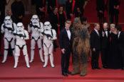 Les stormtroopers et Chewbacca débarquent à Cannes
