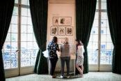 Le musée Yves Saint Laurent expose les dessins de jeunesse du couturier