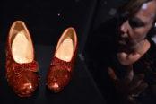 Les chaussures de l'héroïne du Magicien d'Oz enfin retrouvées