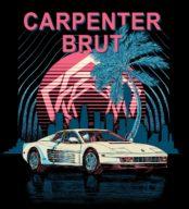 Carpenter Brut: Testarossa blanche et gros beats