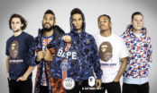 BAPE s'associe au Paris Saint-Germain autour d'une collection lifestyle