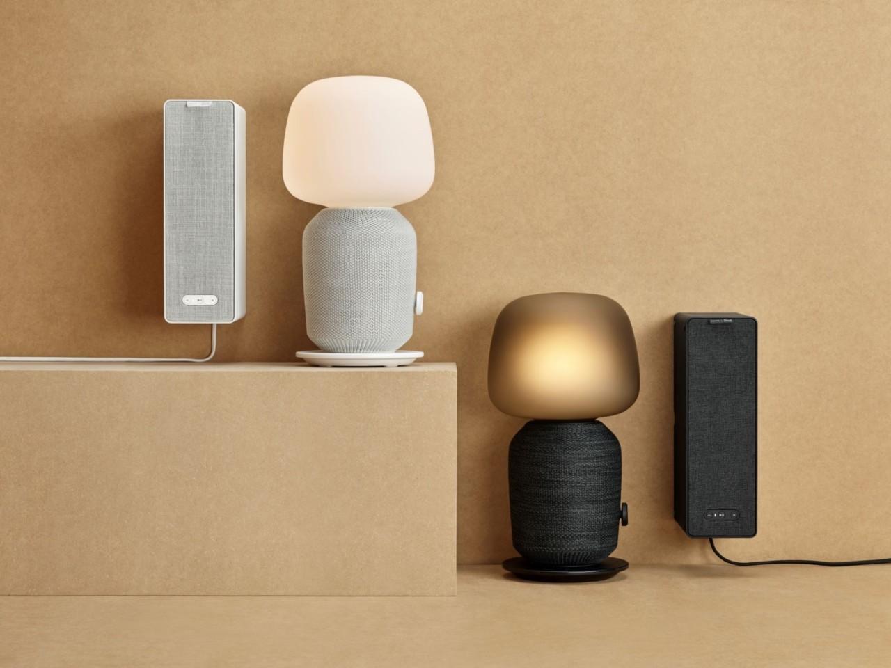 L'enceinte Sonos d'IKEA prend la forme d'une lampe