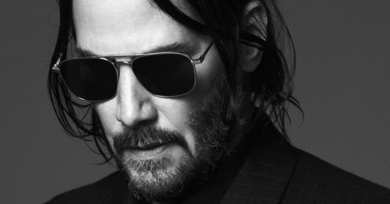 Keanu Reeves nouveau visage Saint Laurent