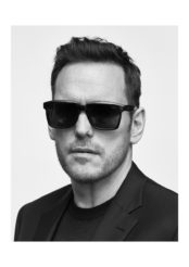 La nouvelle collection eyewear de Brioni incarnée par Matt Dillon