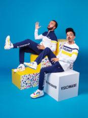 Le coq sportif s'associe avec Bigflo & Oli autour d'une paire de sneakers