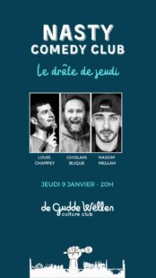 Un Comedy Club au Luxembourg ? Bienvenu au Nasty Comedy Club !