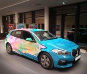 Muzzolini poursuit la tradition des «Art Cars» chez BMW