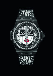 Hublot x Marc Ferrero : une montre tout en contraste pour célébrer les femmes