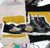 Dr. Martens rend hommage à Jean-Michel Basquiat