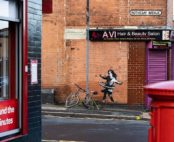 Banksy revendique une oeuvre murale à Nottingham