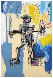 Un nouveau record pour le Warrior de Basquiat