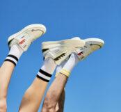 Des sneakers biosourcées à base de fruits et de plantes