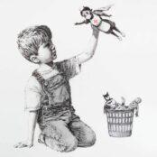 Banksy revendique de nouvelles oeuvres apparues sur des murs anglais